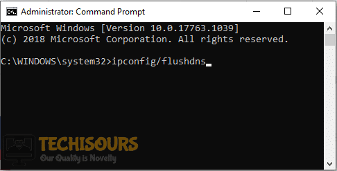 Flush DNS to rectify dropped frames issue