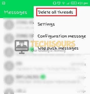 Delete threads