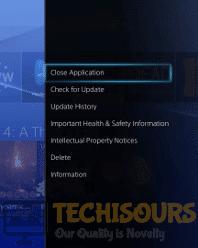 Close App to terminate error code guitar