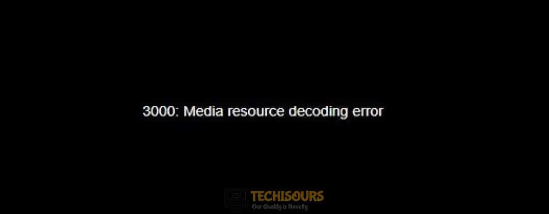 twitch error 3000 display