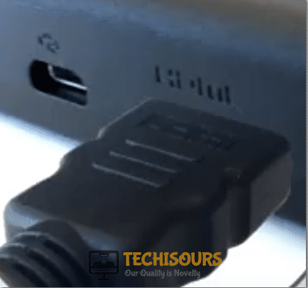 HDMI Cable Connection