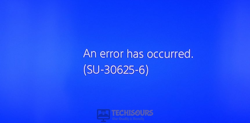 ps4 error su-30625-6 display