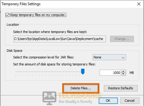 Delete Temporary Files to fix minecraft not responding 1.14 issue