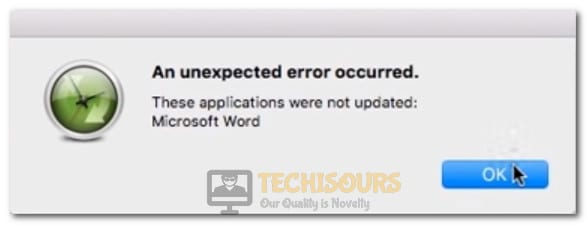 autoupdate cannot connect to the update server