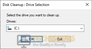 Select the disk partition
