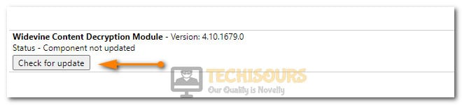 Updating Module to fix error code m7353-5101
