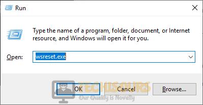 wsreset.exe to fix 0x80240017