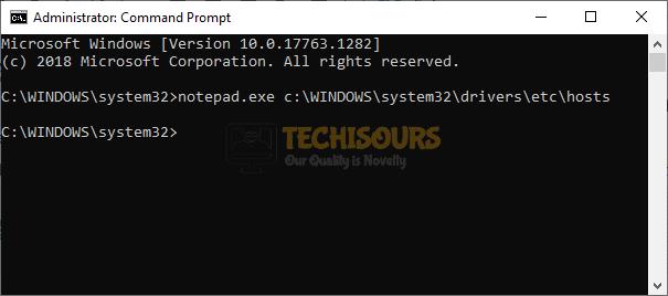 Open host files