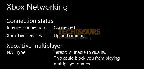 Xbox Teredo Error