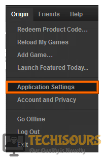 Opening Application settings to resolve dragon age inquisition not launching windows 10 problem