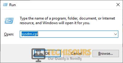 "Typing ""sysdm.cpl"" to fix dev error 6178 modern warfare"
