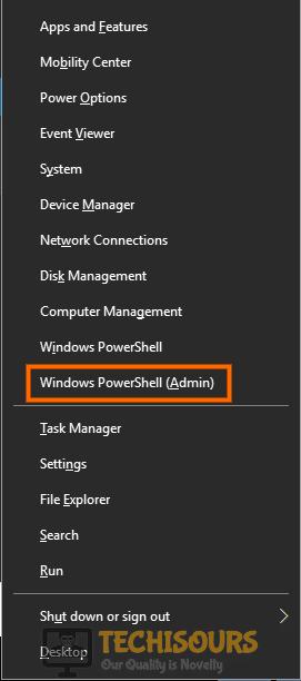 Windows PowerShell (Admin) to fix 0xc1900209 issue