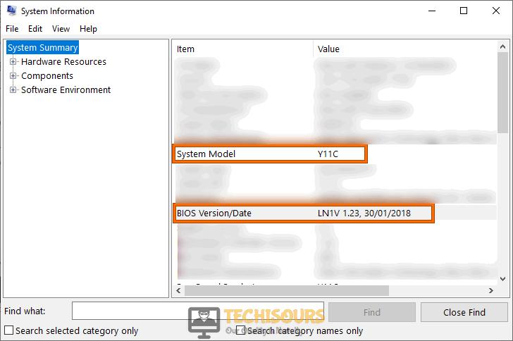 Check BIOS version