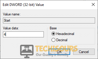 Edit Value Data to eliminate qbittorrent i/o error