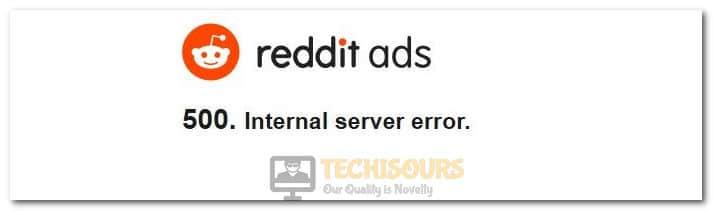 Reddit Error 500
