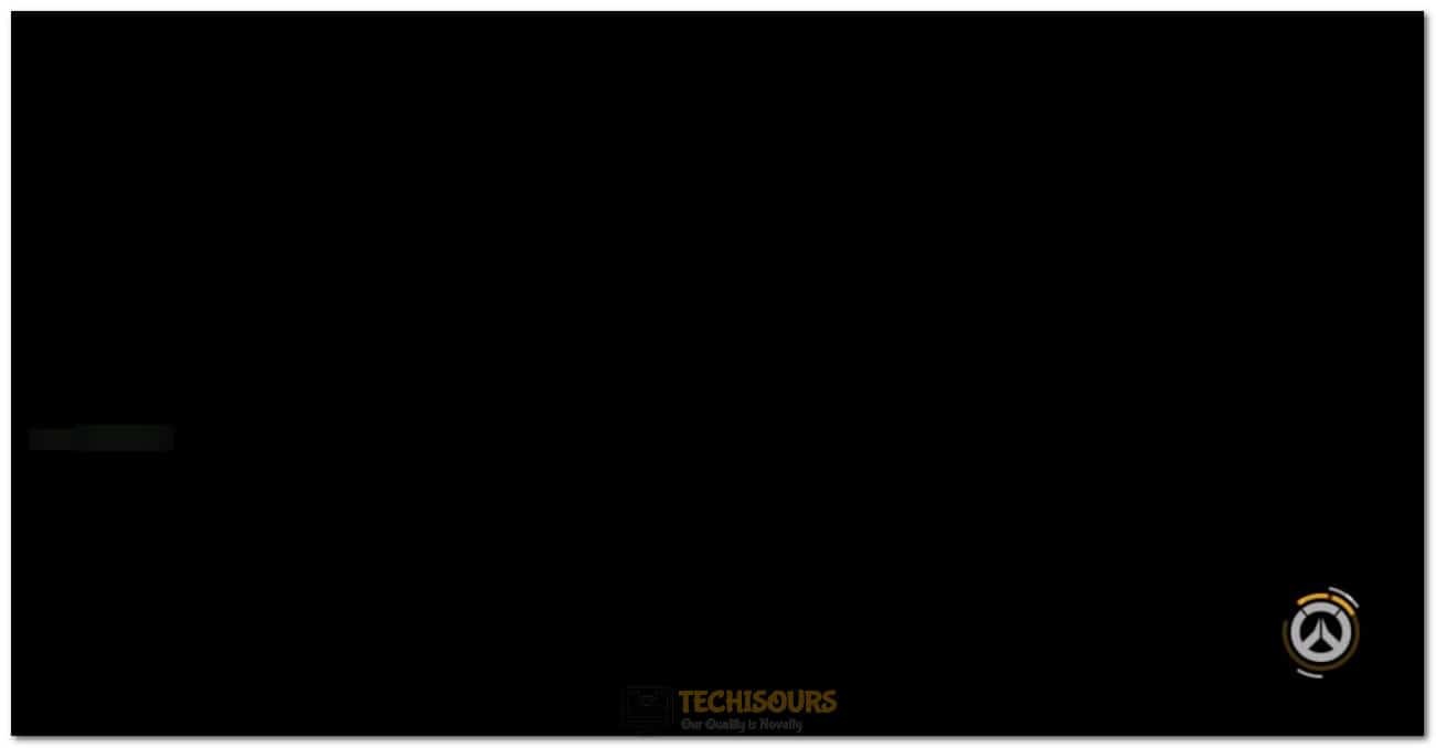 Overwatch Black Screen Issue
