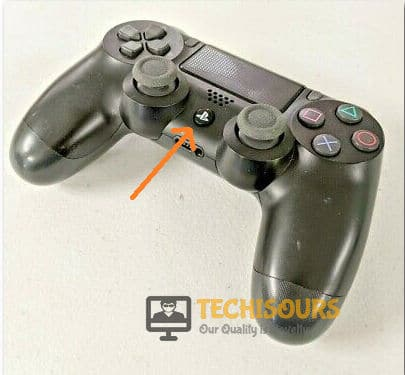 Press PS button to get rid of ps4 error code np-36006-5