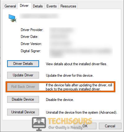 Rollback Driver to rectify video scheduler internal error