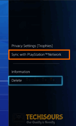 Sync Trophies with PSN