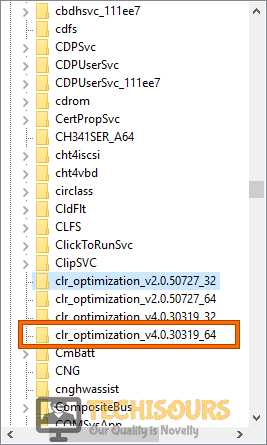 Go to this location to fix .net runtime optimization service high cpu problem