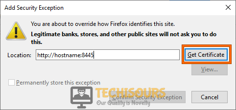 Get Certificate to fix content was blocked because it was not signed by a valid security certificate problem