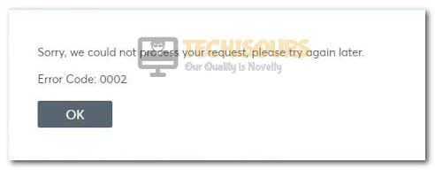 ticketmaster error code 0002