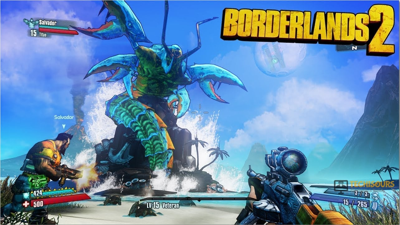 borderlands 2 initialization error