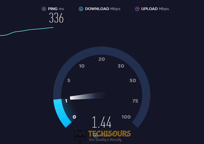 Run a speed test