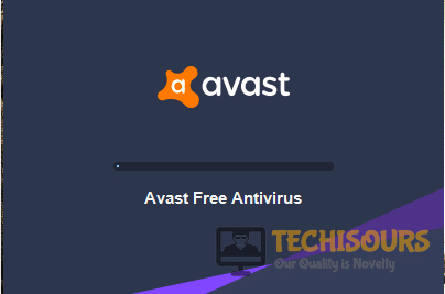 avast won't open