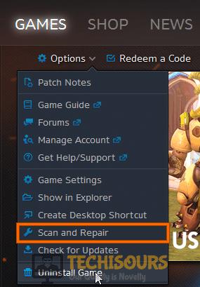 Scan and Repair