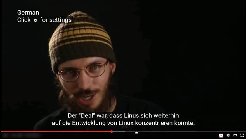 Video with Subtitles