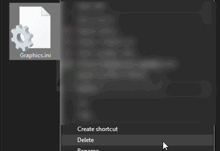 Delete files to fix nier automata pc white screen issue