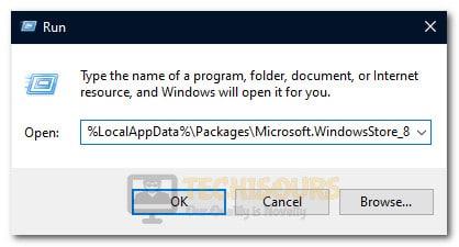 Opening the folder