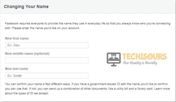 Provide accurate credentials