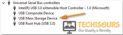 Locate external hard drive