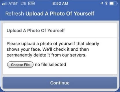 Upload a Clear Picture