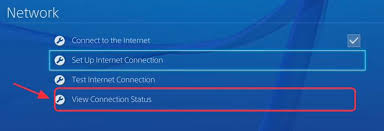 View connection status