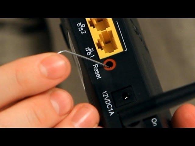 Reset Router to fix Plex is not reachable error