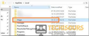 Delete origin folder