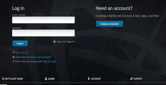 Sign In Blizzard Account to fix wow lua error