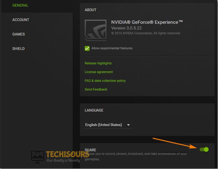 Disable NVIDIA ShadowPlay