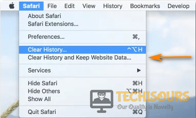 Clear Histroy and Keep Website Data