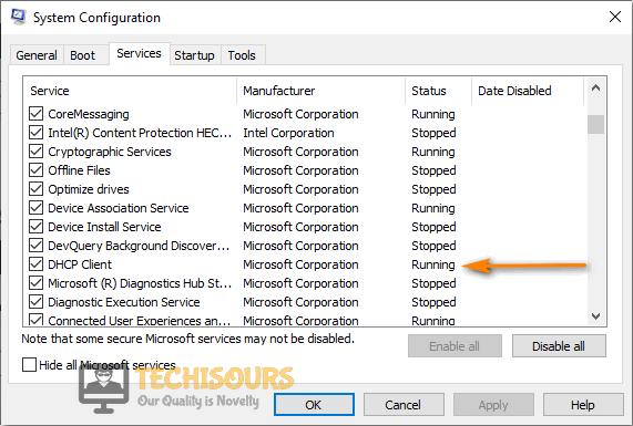 Run DHCP Clients