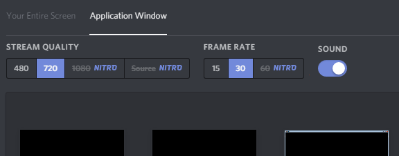 how to share audio on discord screen share
