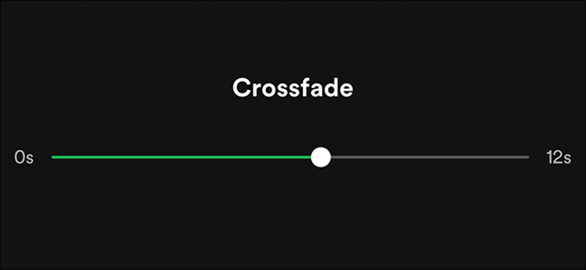 Set Crossfade