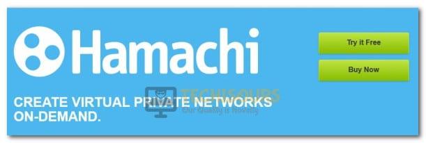 VPN Domain's Tap Device is Down Hamachi VPN