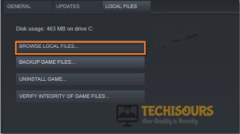 Browse Local Files to fix rust keeps crashing issue