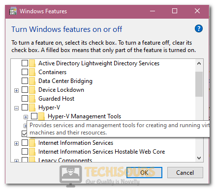 Disabling Hyper-V on the Computer to fix Raw-Mode is Unavailable Courtesy of Hyper-V