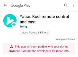 This app isn't compatible