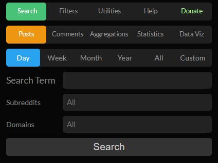 Use RedditSearch.io Domain